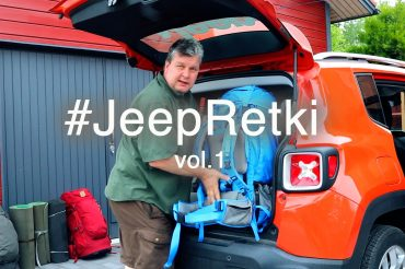 Rinkkojen pakkaus Jeep Renegadeen